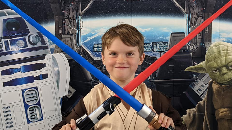 It's a TRAP! Beaver's Star Wars Sleepover 2021