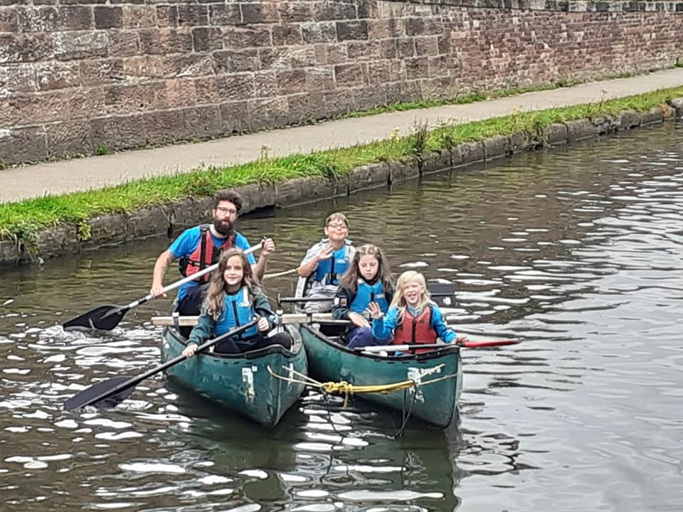 Canoeing – Cub Camp 2021