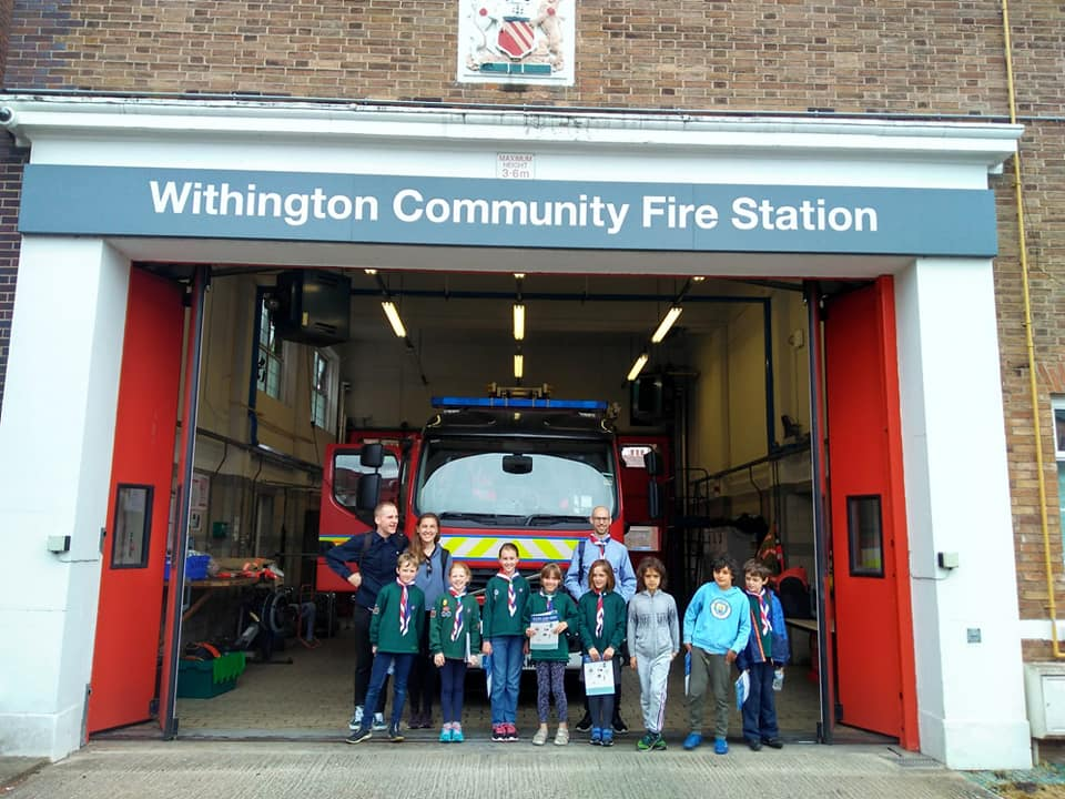 Cubs trip to Withington Fire Station 2019