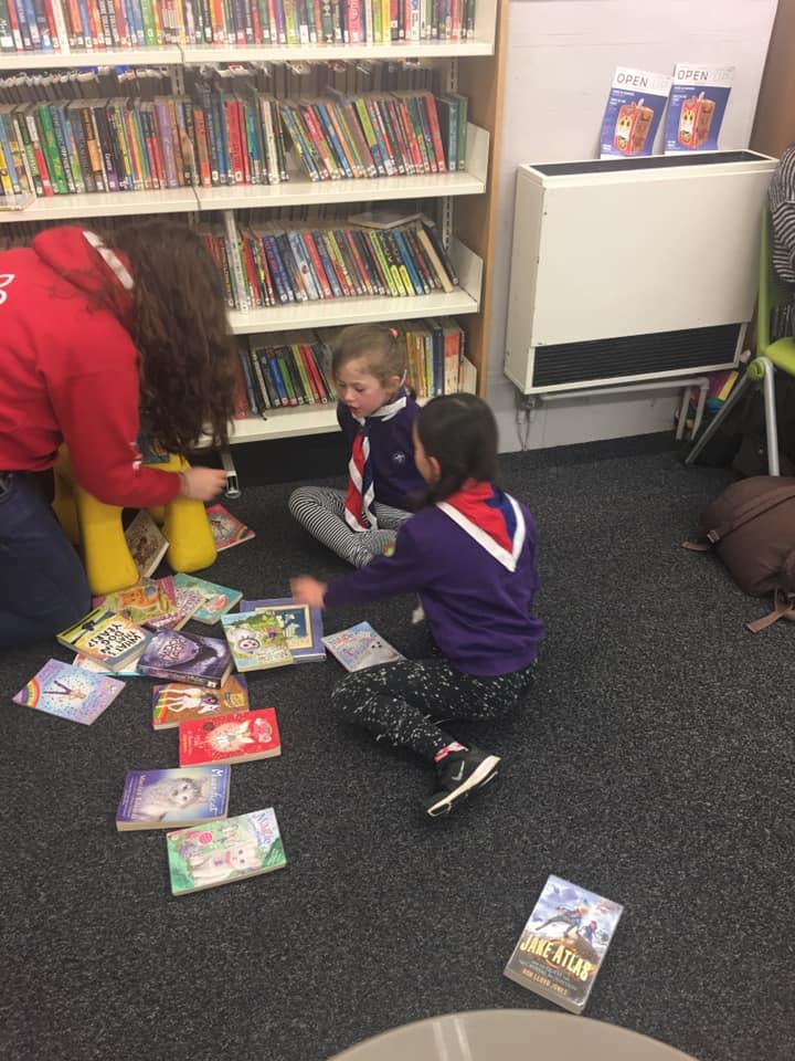 Hedgehogs Visit to Chorlton Library 2019